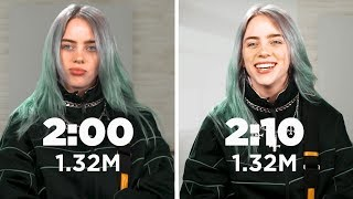 Billie Eilish: Same Interview, Ten Minutes Apart | Capital