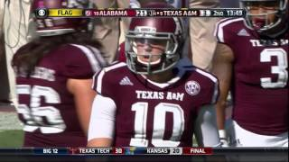 Alabama vs Texas A&M 2015 Full Game (Just The Plays)