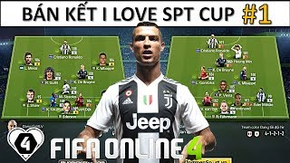 "FIFA ONLINE 4 | BÁN KẾT I LOVE SUPERTEAM CUP #1: ILF BLUE VS HND: ""CHUNG KẾT"" Gọi Tên Ai"