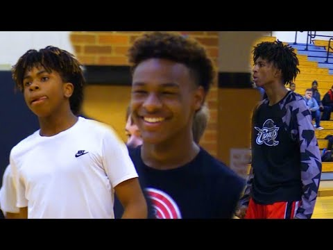 North Coast Blue Chips LOOK READY TO DESTROY! Blue Chip Open GYM Highlights!
