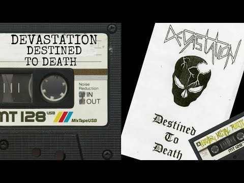 📼Devastation - Destined To Death Full Demo 1986📼 [Before Signs Of Life Album]