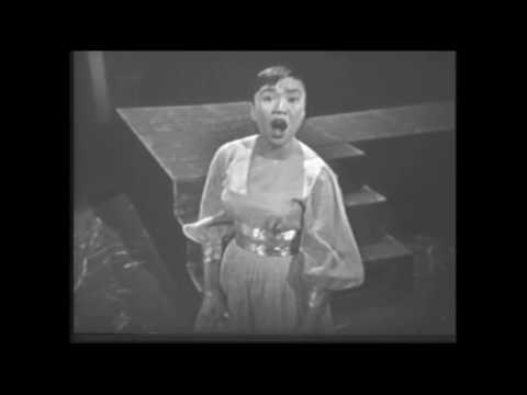 "PAT SUZUKI sings ""SOMETHINGS GOTTA GIVE"" with FRANK SINATRA & NATALIE WOOD 1958"