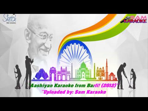 Itti Si Hansi Itti Si Khushi _ Karaoke Sam...