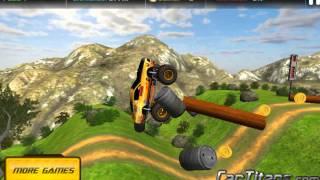 3D 4x4 Parkur Arabası - 3D Oyuncu - 3D Araba Oyunları