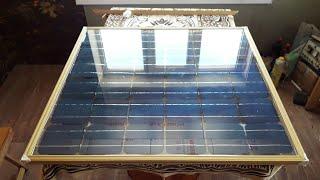 Методика сборки солнечной батареи с минимальными вложениями