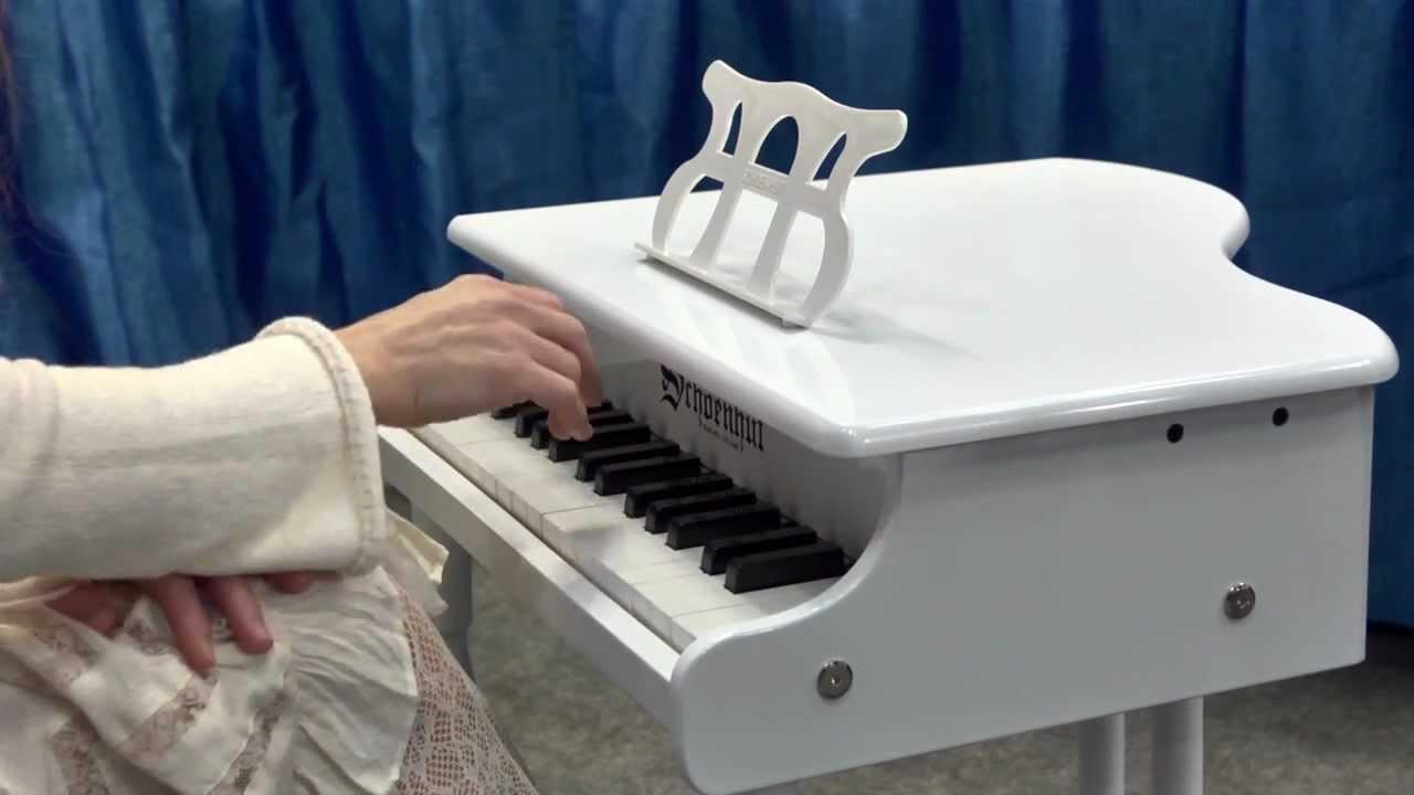 30 Key Classic Baby Grand White