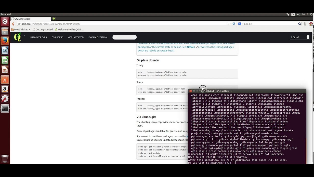 How to install QGIS 2 4 on Ubuntu 14 04
