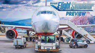 Microsoft FLIGHT SIMULATOR 2020: Boden, Wetter, Himmel und mehr! | Preview zum Flug-Simulator 1/2