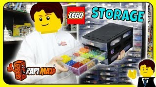 MY NEW LEGO ROOM STORAGE - $800 of PapiMax LEGO Storage Containers