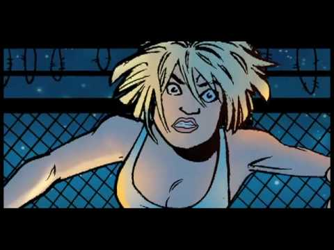 The Pro animated short.  Adults only. Ennis, Conner and Palmiotti
