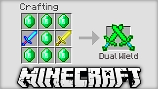 NEW CRAFTING RECIPES IN MINECRAFT!?