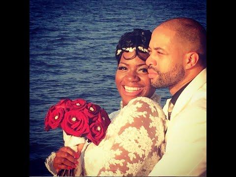 R&B Singer FANTASIA Got Married [WEDDING PICS & Celebration Video]