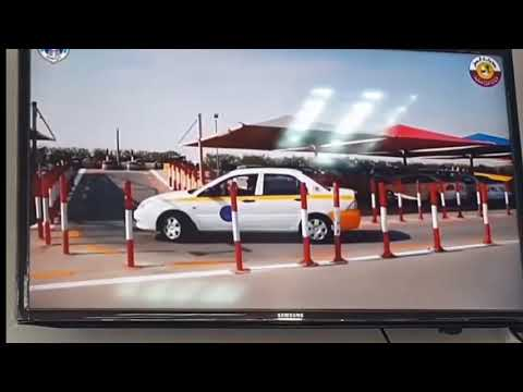 Qatar driving license L parking Test