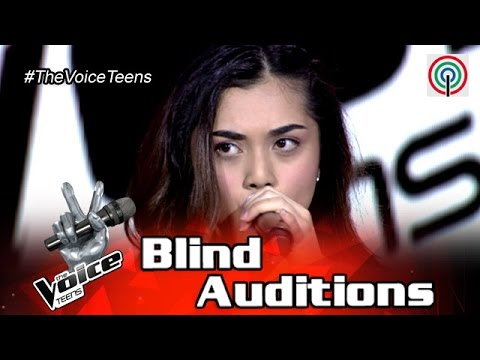 The Voice Teens Philippines Blind Audition: Tanya Dawood - Fallin