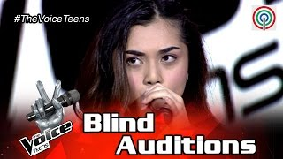 The Voice Teens Philippines Blind Audition: Tanya Dawood - Fallin thumbnail