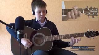 """Отзыв об уроках игры на гитаре в музыкальной школе """"MUZE"""", Павел, 10 лет"""