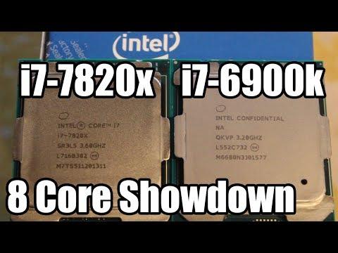 i7-7820x vs i7-6900k Showdown - Core To Core Comparison!