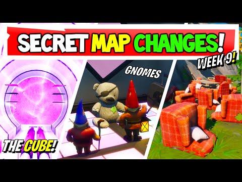 Fortnite | All Secret Map Changes V12.40 & Easter Eggs!