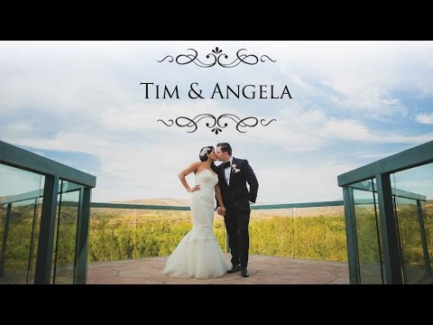 Santiago Vineyard Wedding | Tim & Angela Highlight
