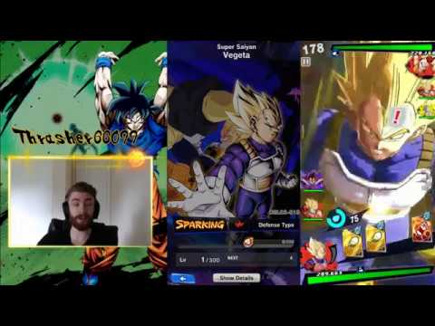 DB Legends - Best Characters Sparking Red SSJ Super Saiyan Vegeta Review Dragon Ball