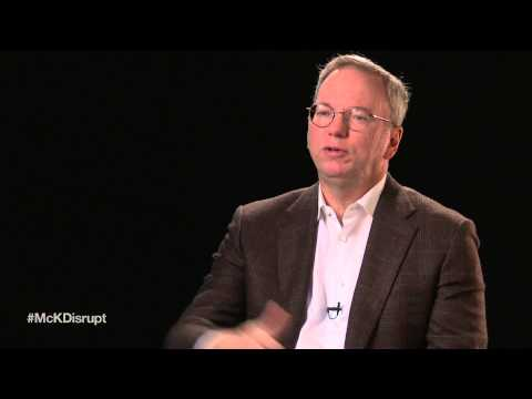 Disruptive technologies with Eric Schmidt: Materials and manufacturing
