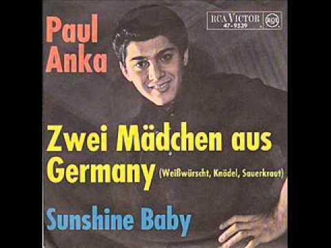 Paul Anka - Zwei Mädchen aus Germany