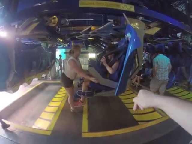 Manta Ride - Sea World - POV (GoPro Record)