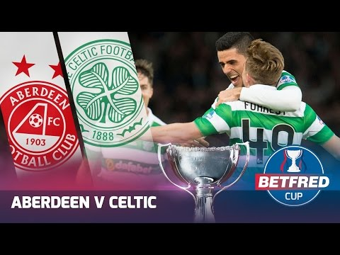 Aberdeen v Celtic - Betfred Cup Final Highlights