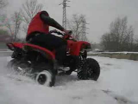 ArmadA PRO S1 на снегу