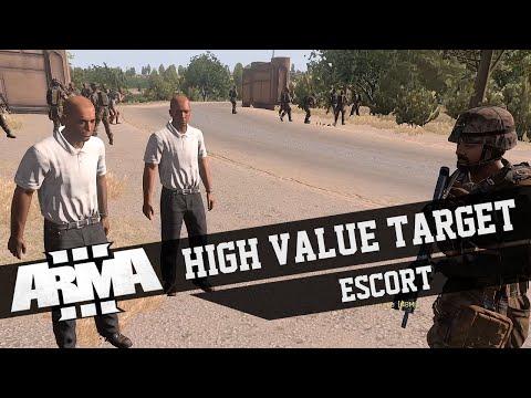 Arma 3 - HVT Escort - Friday Night Fights - Bravo Company