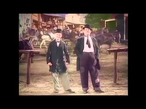 """""""Way Out West"""" dance (Laurel and Hardy)"""