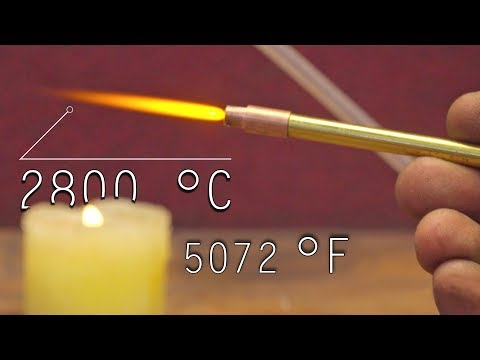 Superpowerful Flame 5072 ℉ • Produce Hydrogen from Water - Do it yourself