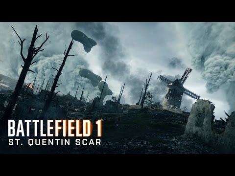 Battlefield™ 1 St. Quentin Scar Online Operation Multiplayer Gameplay