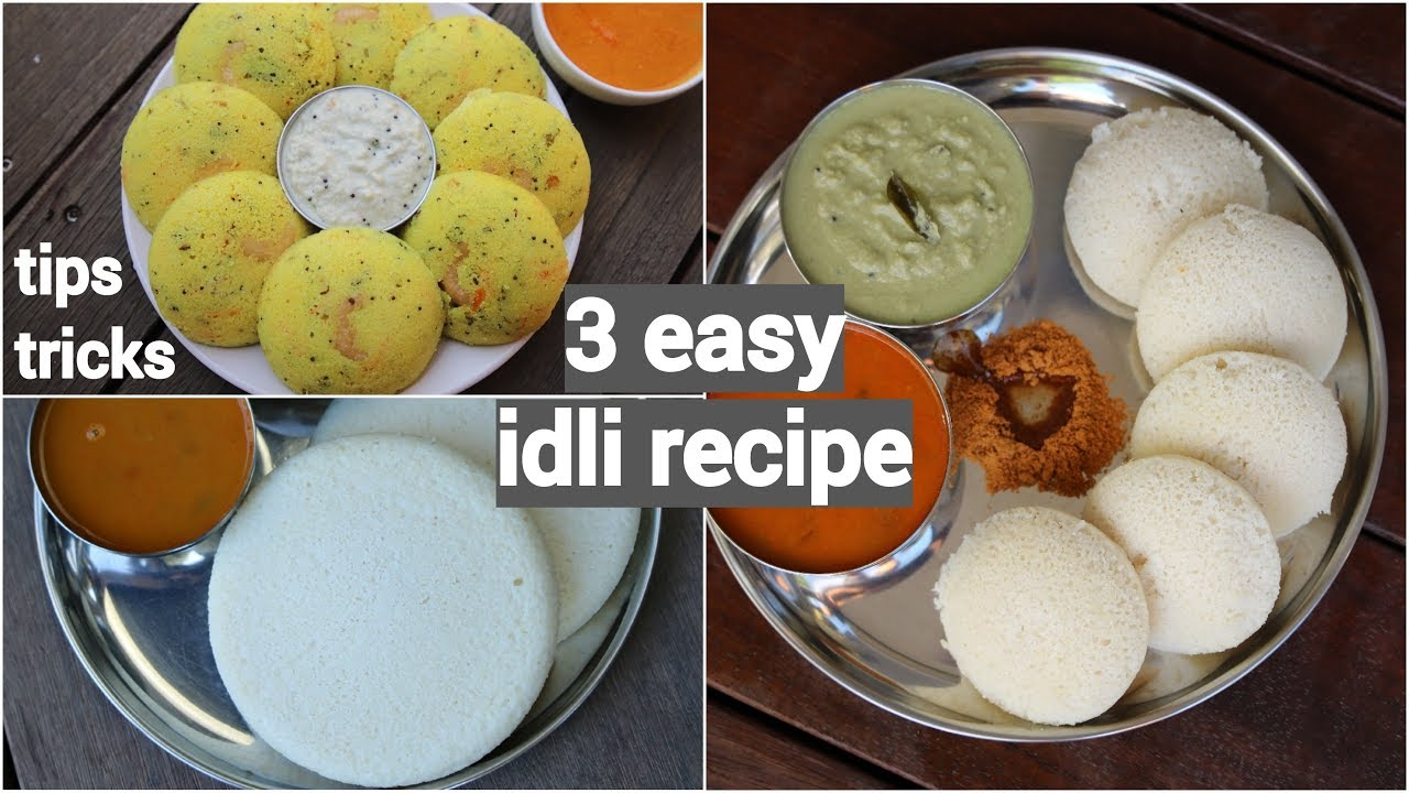 3 easy idli recipes for morning breakfast | quick and ...