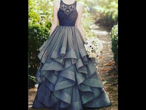 New Beautiful Fancy Design Evening Gown Collection - YouTube