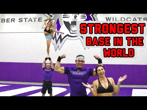 EXTREME CHEERLEADING STUNTS!