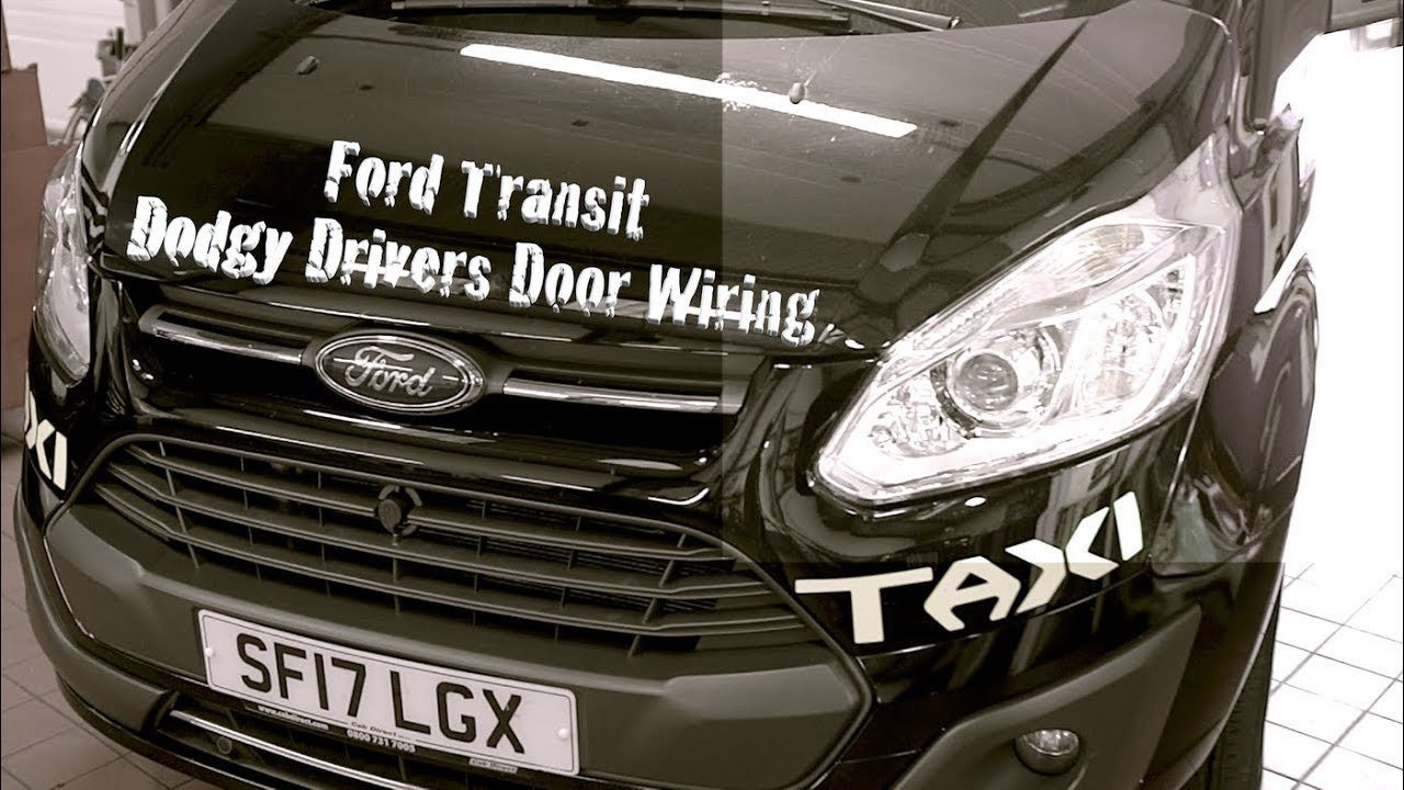 Ford Transit Dodgy Drivers Door Wiring Youtube Motor
