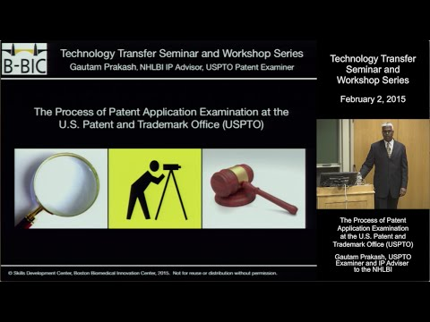 The Process of Patent Application Examination at the U.S. Patent and Trademark Office (USPTO) Mp3