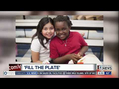 Fill the Plate food drive