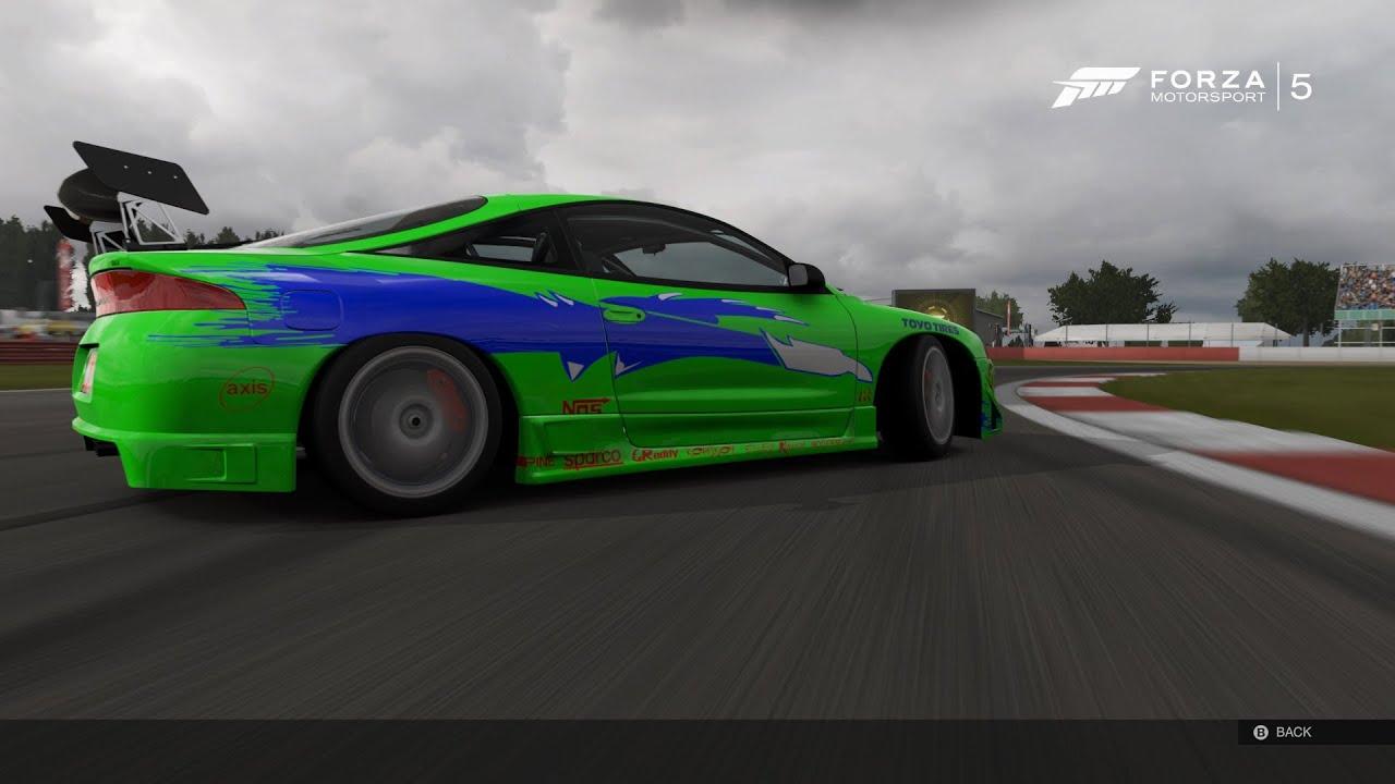 Forza 5 Mitsubishi Eclipse Gsx 1995 Brian O Conner Fast Furious 1 Drift Build You