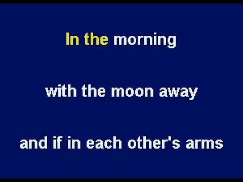 Moonlight (Theme From The Movie Sabrina) by Sting - Karaoke by Allen Clewell