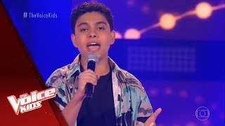 Paulo Gomiz canta 'Beauty and The Beast' nas Audições às Cegas - The Voice Kids Brasil | 5ª T