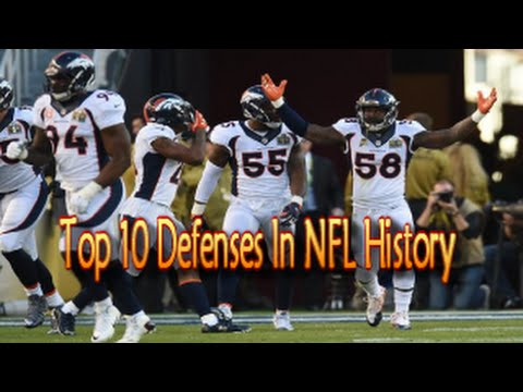 The Top 10 Defenses In NFL History