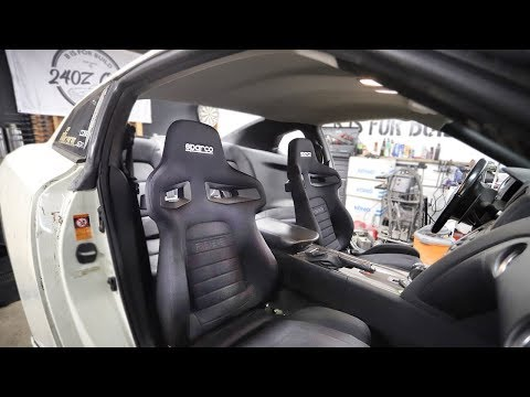 The Ultimate GT-R Interior Swap - Heated Sparco Seats!