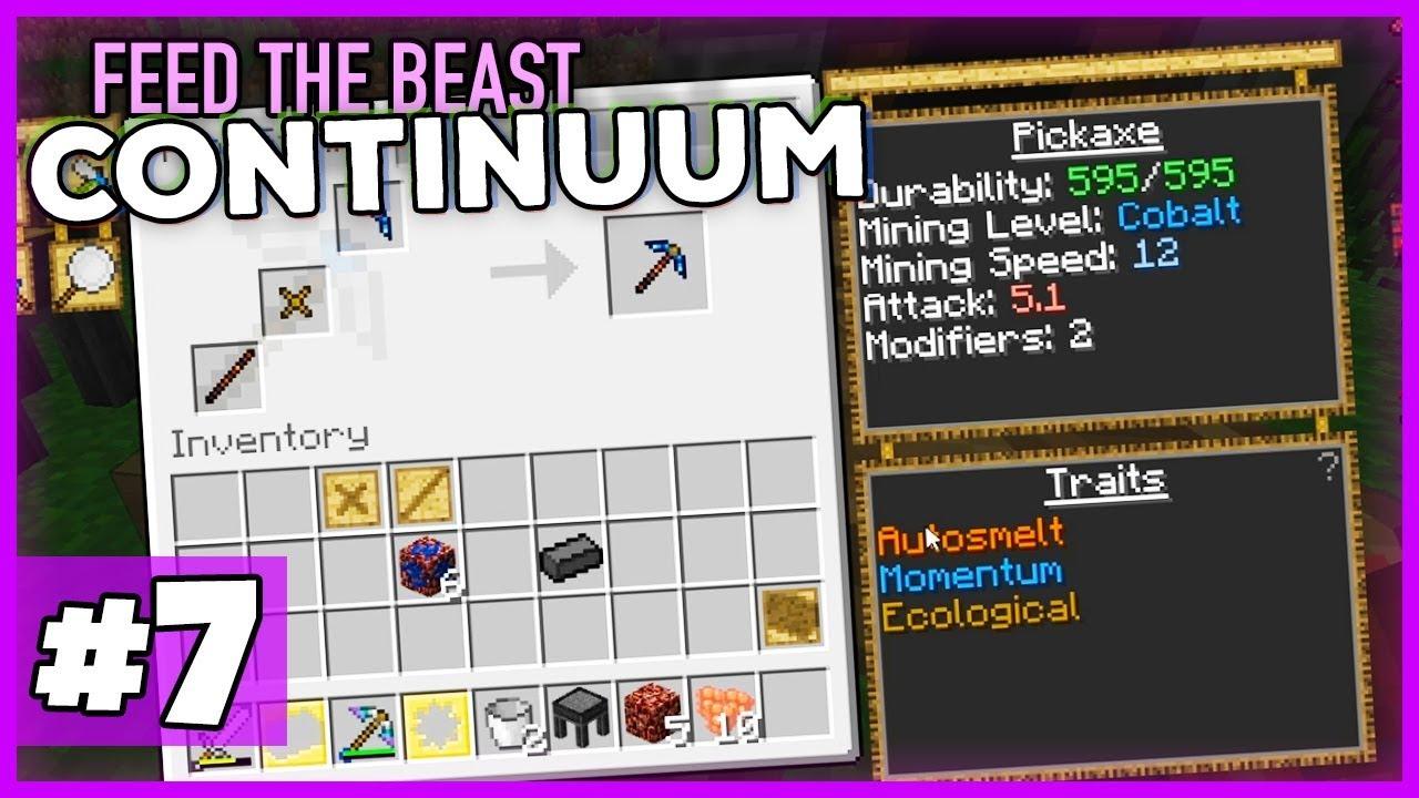 diese pickaxe wurde verboten! - minecraft 1.12 ftb continuum (expert
