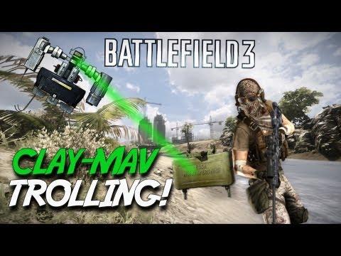 Battlefield 3 Undercover Trolling (Claymore/MAV)