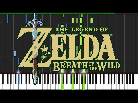Trailer Theme - The Legend of Zelda: Breath of the Wild [Piano Tutorial] (Synthesia) // DS Music