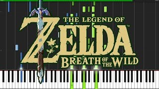 Trailer Theme The Legend Of Zelda Breath Of The Wild Piano Tutorial Synthesia DS Music