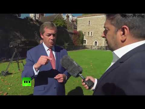 """Nigel Farage: """"Ultimately they can delay this as long as they want, we are gonna leave"""""""