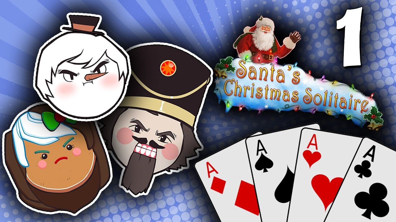 Christmas Solitaire.Santa S Christmas Solitaire First Time Snow Part 1 Steam Train